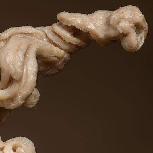 #JavierMarin, #javiermarinescultor. #escultura de #resina poliéster y #amaranto. #Arte, #artecontemporaneo, #figurahumana, #cuerpo. Polyester #resin #sculpture. #art, #contemporaryart, #humanbody, #body Fotografía: Bernardo Arcos