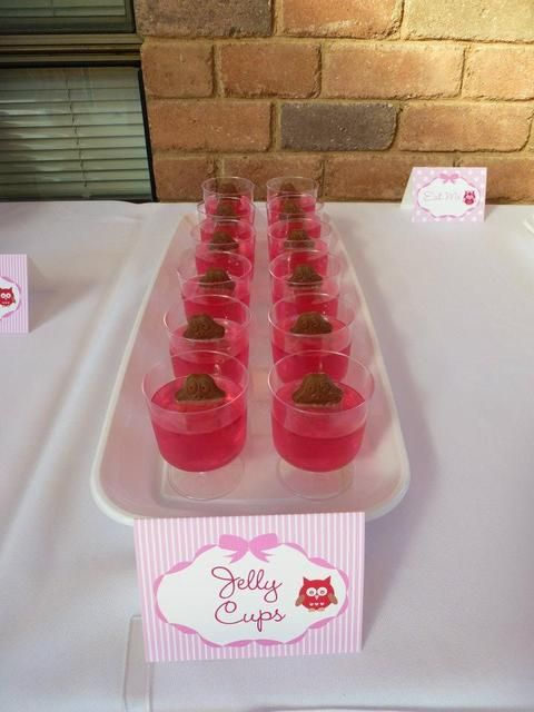 Awesome jelly cups with Freddo! Yummmo