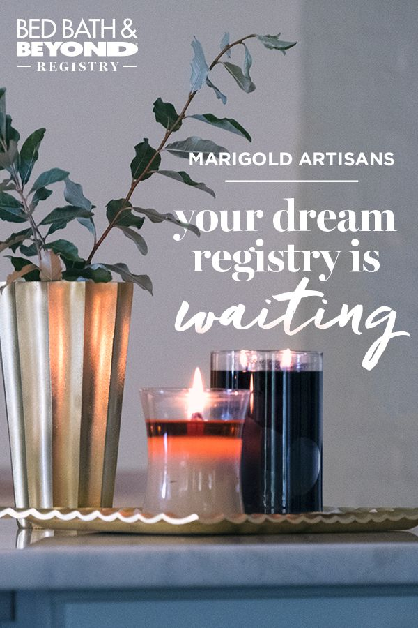 Make your house feel like home with décor you can both agree on. Create a registry to add amazing brands like Marigold Artisans to your wish list.