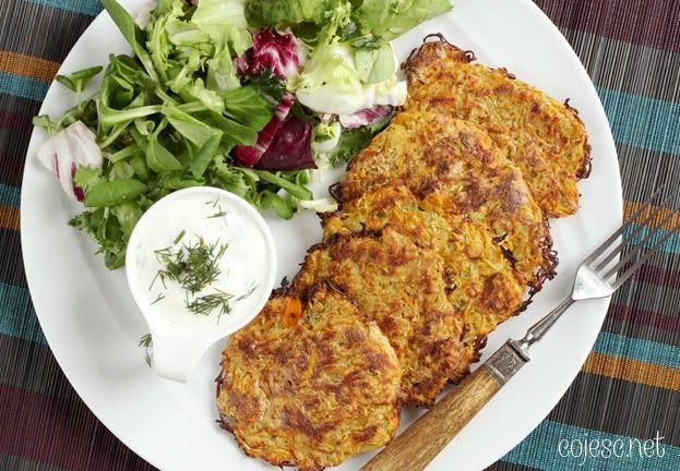 Zdrowe Odżywianie: Dietetyczne Przepisy: Pieczone placuszki warzywne