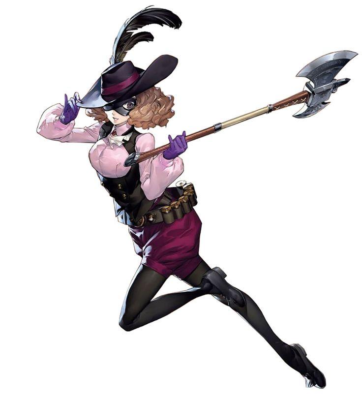 Haru, Noir - Persona 5
