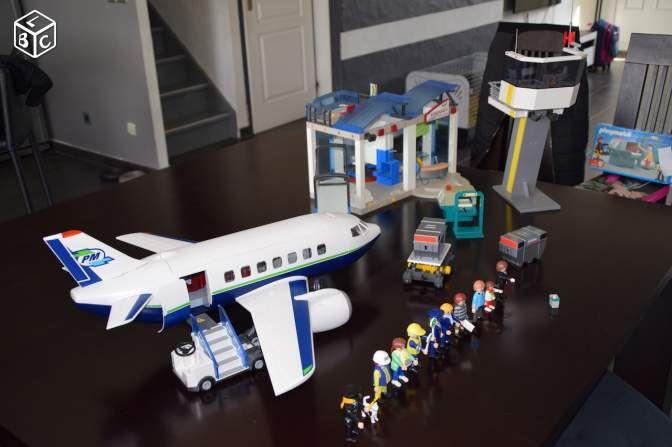 Playmobil aéroport