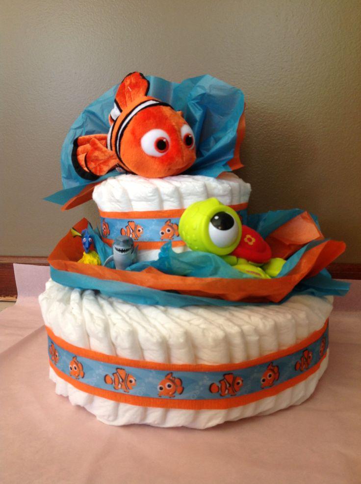Disney's Finding Nemo diaper cake