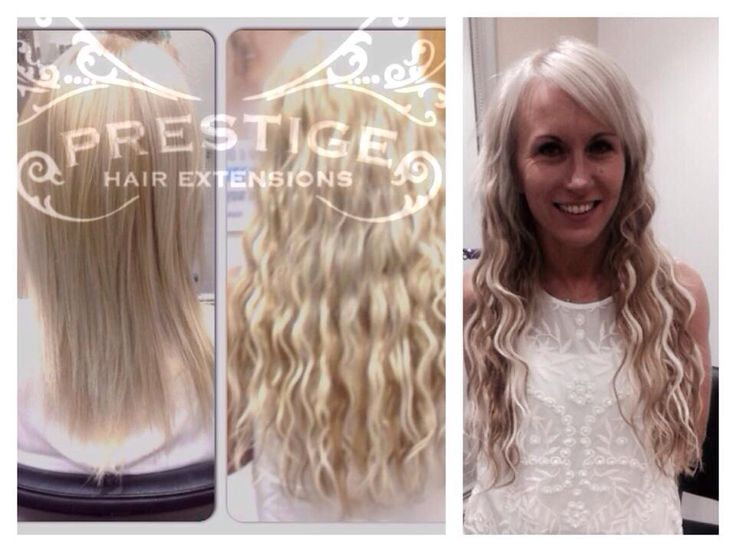 Single Drawn Prestige Hair Extensions Fitted In Stockport Salon Blonde Remy AAAA