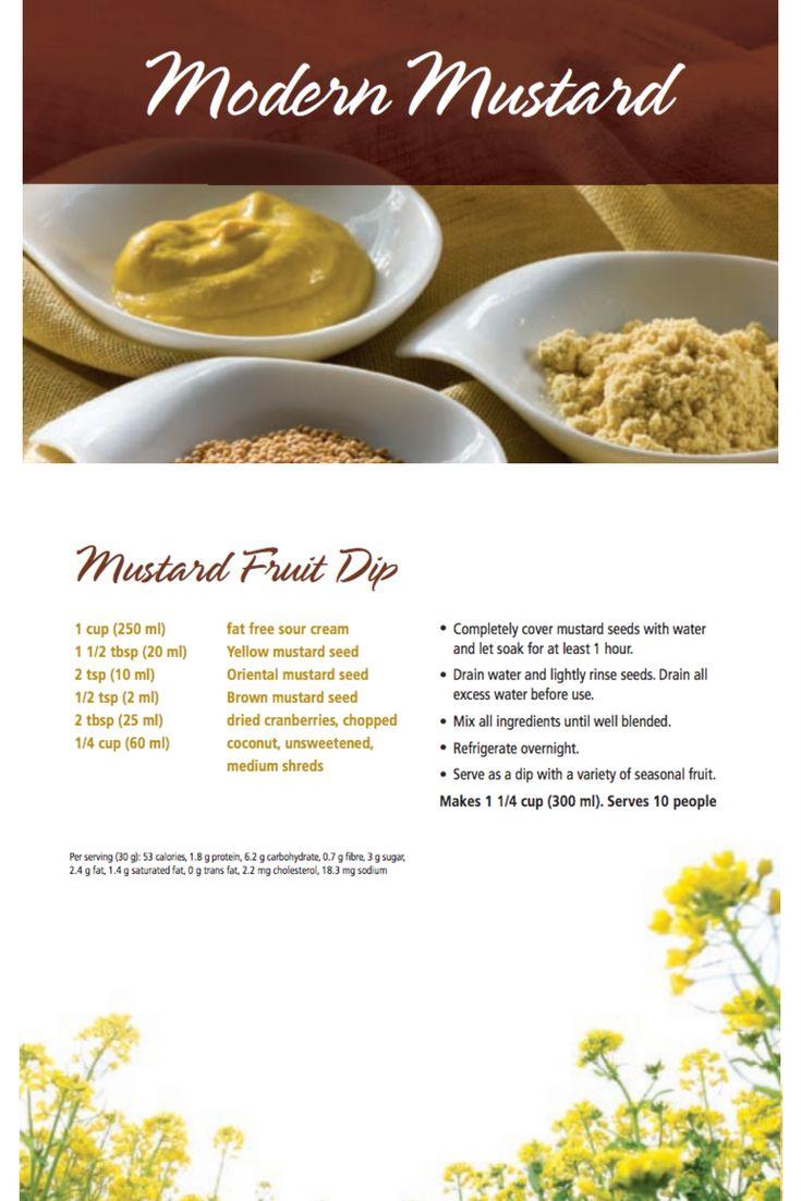 Mustard Fruit Dip | Modern Mustard