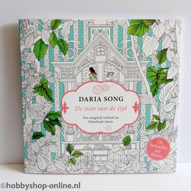 Kleurboek voor volwassenen De Tuin van de Tijd. Een magisch verhaal en kleurboek in een. Laat je fantasie de vrije loop in deze droomwereld vol geheime daken, prachtige sterrenhemels, papieren lantaarns en gigantische vliegende uilen.