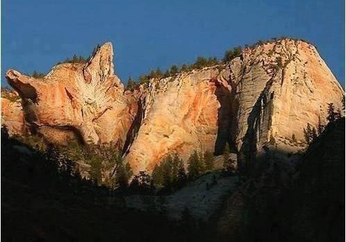 Cat Mountain in Ukraine.
