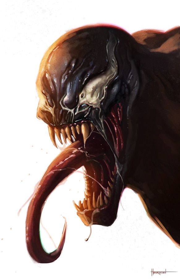 Venom by pinkhavok.deviantart.com on @deviantART