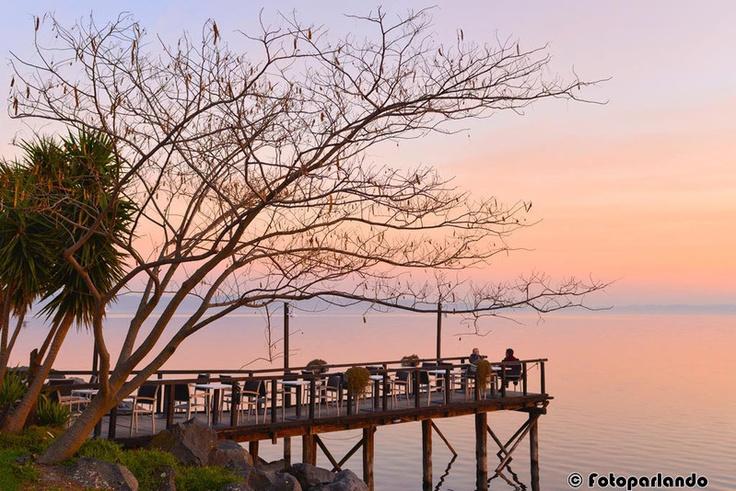 Aperitivo al lago...   Lago di Bracciano - Trevignano romano