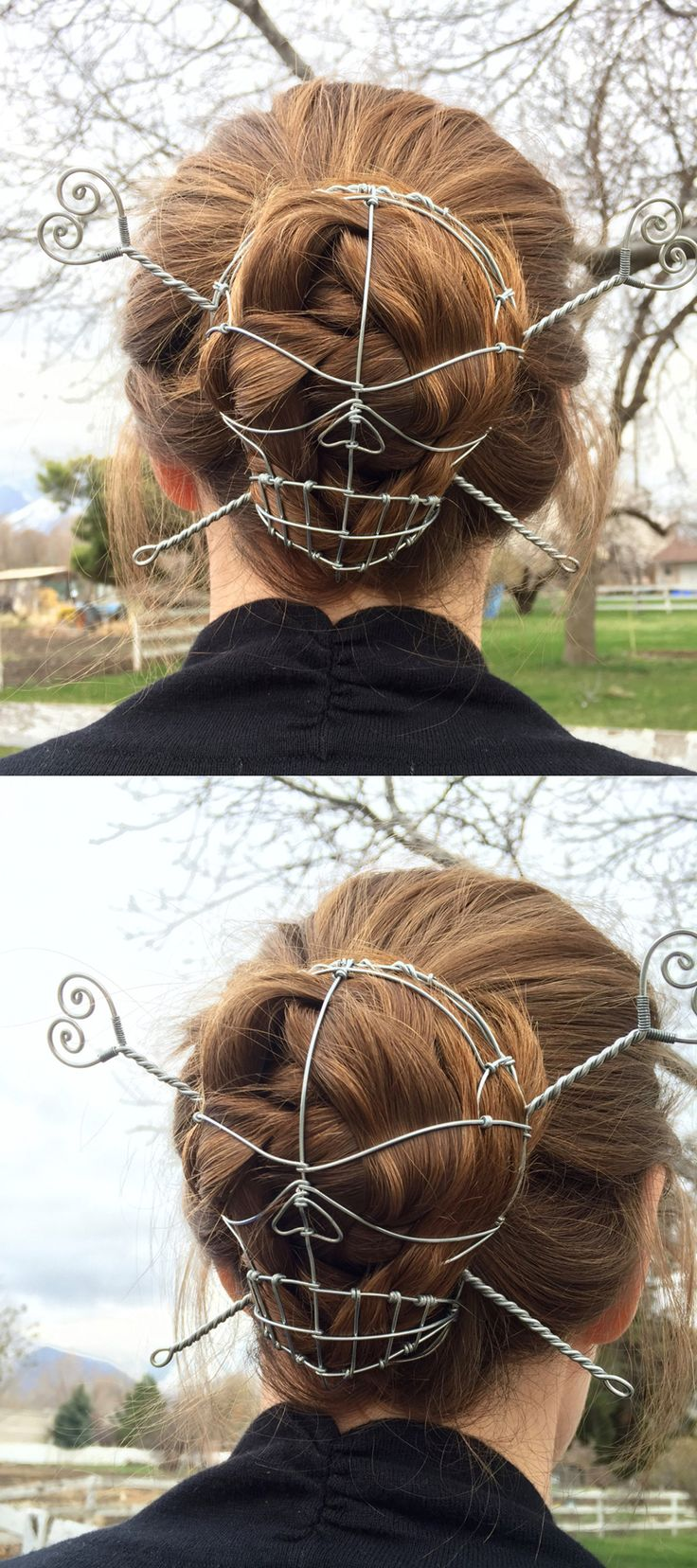 Best Hair Accessories Images On Pinterest Crowns Headdress - Diy bun cover