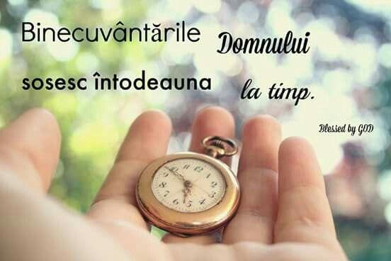 Binecuvantarile Domnului sosesc intodeauna la timp :)