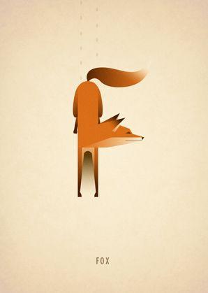 Animal Alphabet by Marcus Reed, via Behance