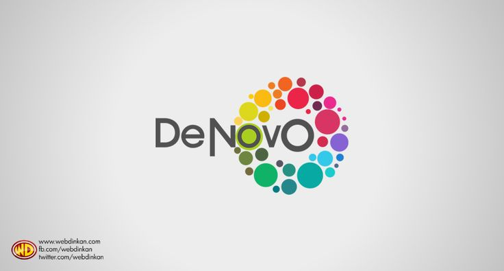 Logo Design for Toc H Institute Of Science and Technology's College Fest, DeNovo.