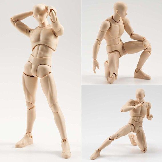 Body Kun (Man) - Pale Orange Color Ver. - S.H.Figuarts - 15 cm - Bandai | Comic Store Brasil