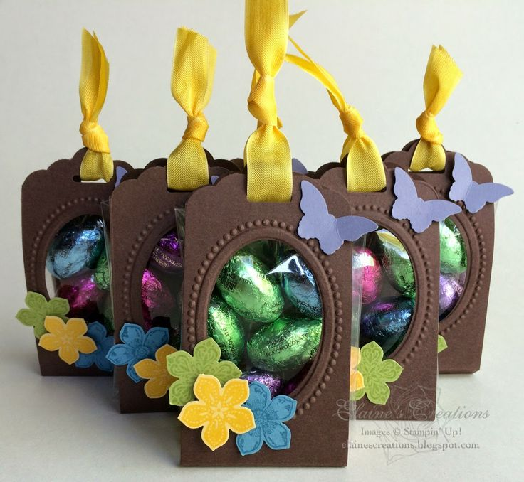 Stampin' Up! Spring Scalloped Treats Elaine's Creations