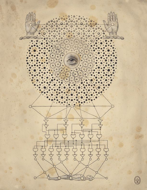 Daniel Martin Diaz / Spirit Machine / Sacred Geometry <3