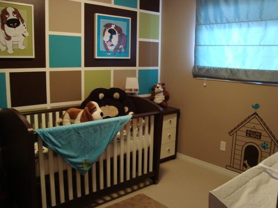 19 best images about nursery ideas on pinterest pull toy for Dog themed bedroom ideas