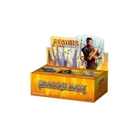 Magic The Gathering Dragon's Maze Booster Box, Multicolor