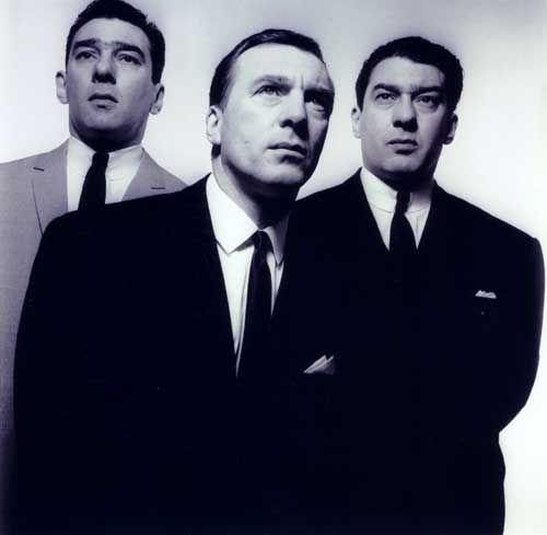 Kray Brothers (1965) by David Bailey © Camera Eye Ltd.