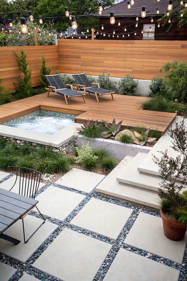 looks so peaceful and interesting at the same time backyard landscape design