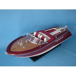 "RC Riva Aquarama 32"" - RC Speed Boats - Model Ship Wood Replica - Not a Model Kit (Toy)  http://howtogetfaster.co.uk/jenks.php?p=B002YLKHWO  B002YLKHWO"