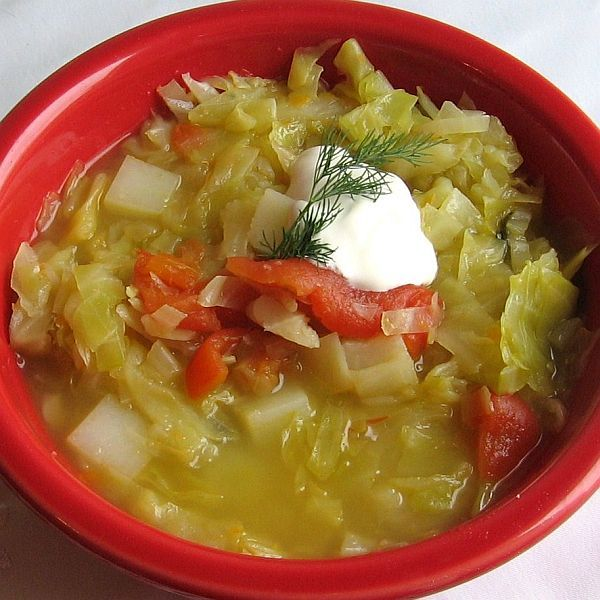 Russian shchi (traditional cabbage soup)--I'll never be able to make it quite like my Belarusian friend's mom, but this is a great recipe!