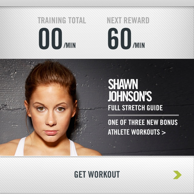 Nike Training Center app gives free workouts. When you log