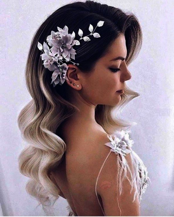 Bridal Hairstyles For Brief To Medium Size Hair different Wedding ceremony Day Hair Half Up…