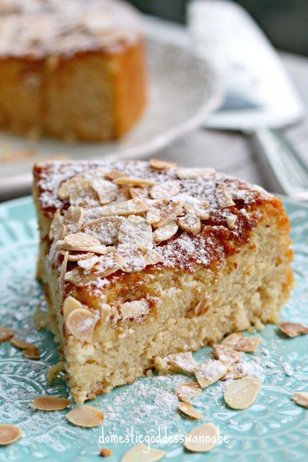 Flour-Less Lemon, Almond And Ricotta Cake