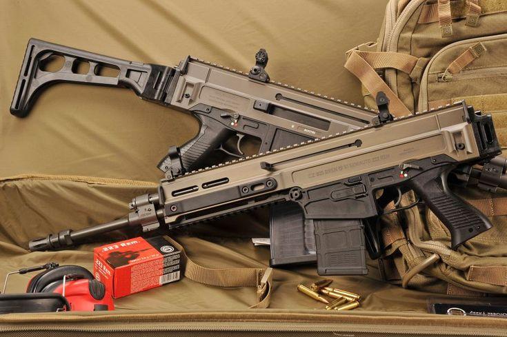 CZ-805 BREN S1 semi-automatic rifle
