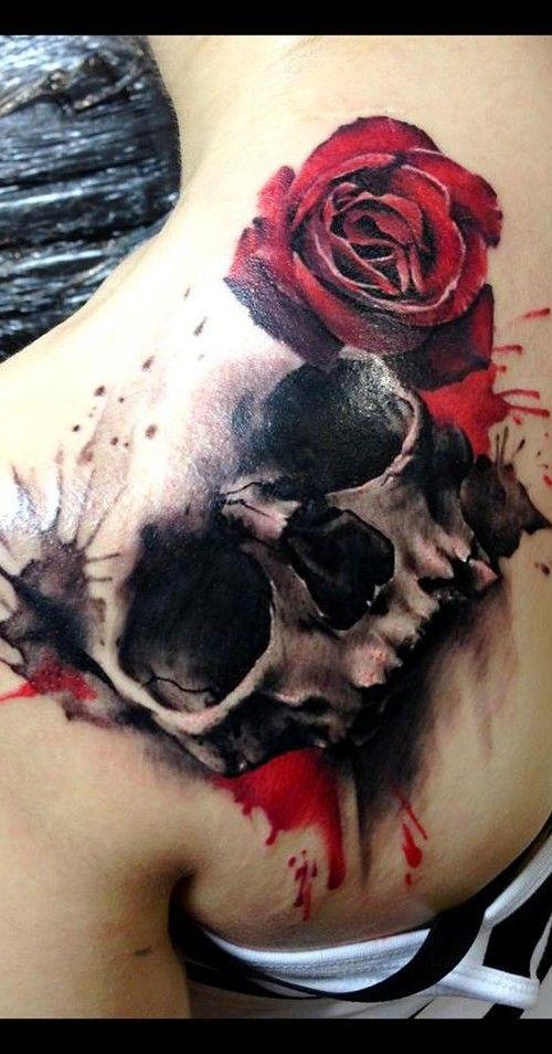 black and red skull tattoos - google
