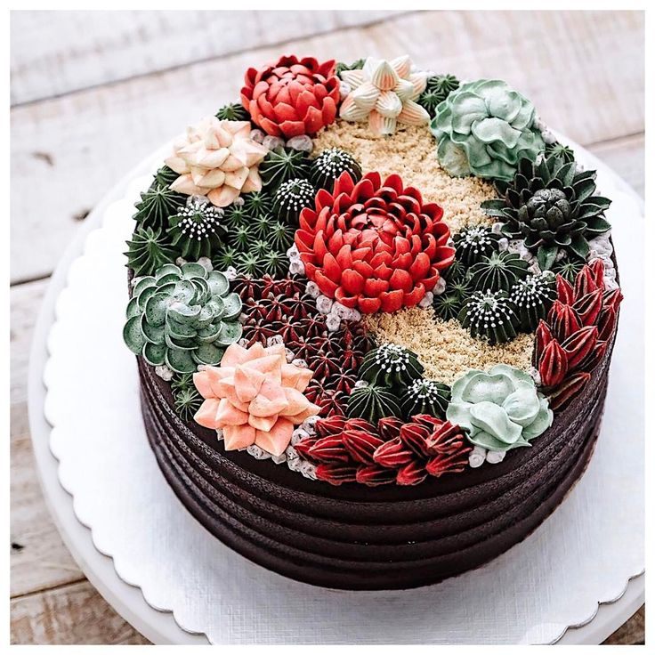Succulent Cakes Are the New Wedding Cake Trend to Know