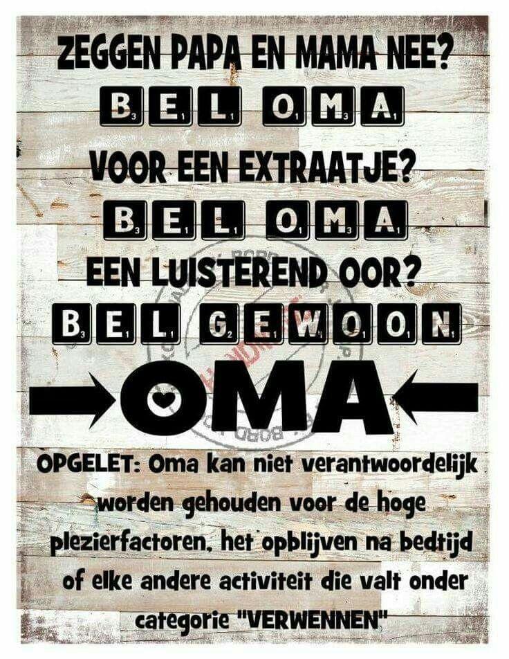 Kom maar bij Oma