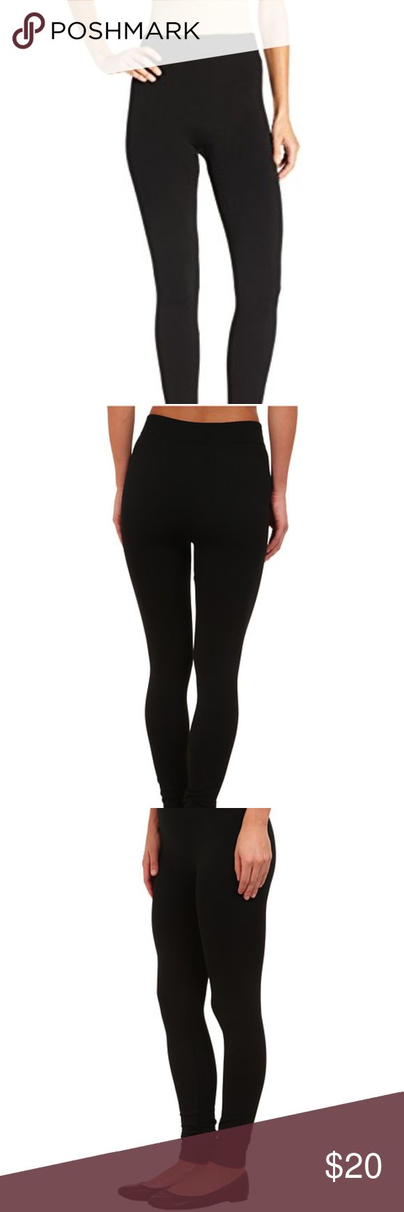 NEW FLEECE Leggings High quality. New with tags. Fleece lined seamless leggings. Soft and cozy for Fall and Winter. Looks nice with tunics and moto boots.  Approx measurements: L/XL fits 135-185 lbs. S/M fits 90-135 lbs. Fabric: Polyester Spandex. Boutique Pants Leggings