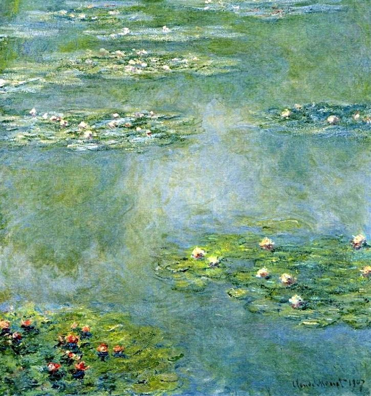 claude monet water lilies essay An essay by ronnie landfield on an exhibition of (claude) monet in the 20th century at the museum of fine arts, boston,  (large water lilies) of monet point the way to a comparison with abstract expressionism of the 1950's and lyrical abstraction of the 1960's and 1970's the monet show comes at a time when new york has recently seen.