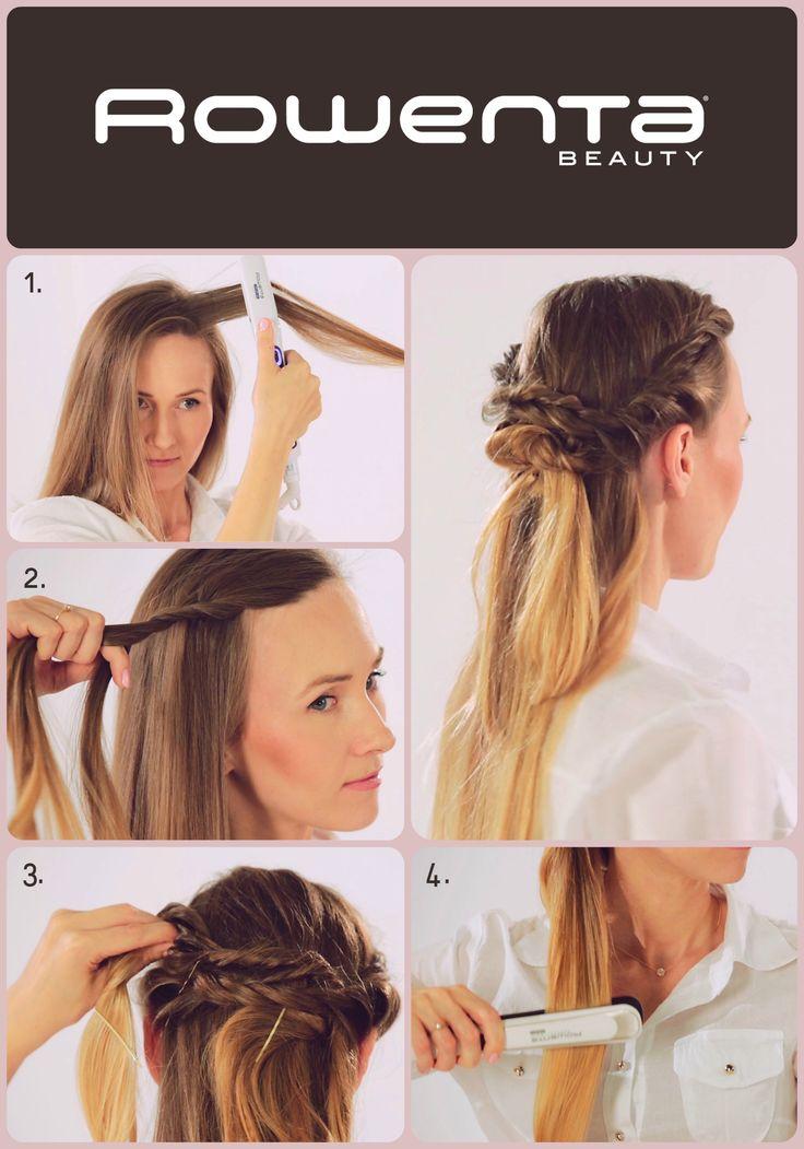 Plecionka Krok 1. Unieś włosy od nasady przy pomocy VOLUM'24 Krok 2. Z każdej strony zapleć po dwa ślimaki Krok 3. Podepnij ślimaki z tyłu jeden nad drugim Krok 4. Resztę włosów wyprostuj, lekko podkręcając końcówki przy użyciu prostownicy RESPECTISSIM 7/7 #Respectissim #Rowenta #RowentaPolska #fryzura #włosy #hair #hairstyle #hotd #fryzjer #wlosomania #wlosomaniaczka #wlosomaniaczki #hairmania #hairgoals #haircolor #curls #waves #straightner #volum #wavy #straight #easy #tutorial…