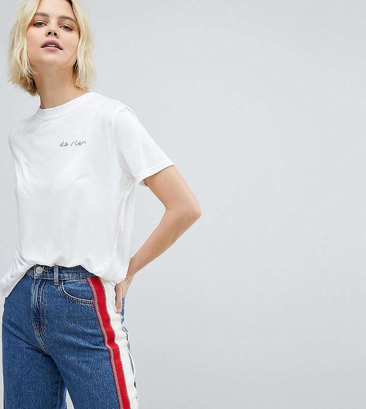 Whistles De Rien Embroidered T-Shirt