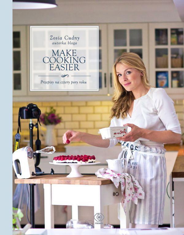 Przepis z mojej książki: Ciasto jogurtowe z morelkami (str. 166) | Make Life Easier