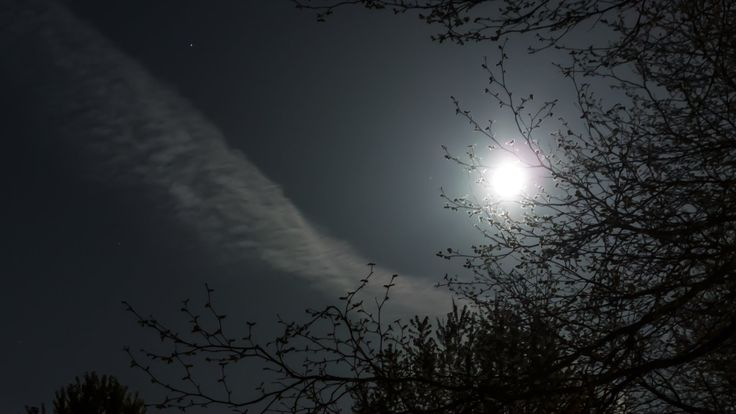 """Moon Rising Time Lapse (RX100) - """"Καληνύχτα!"""" ;) #timelapse #moon #goodnight"""