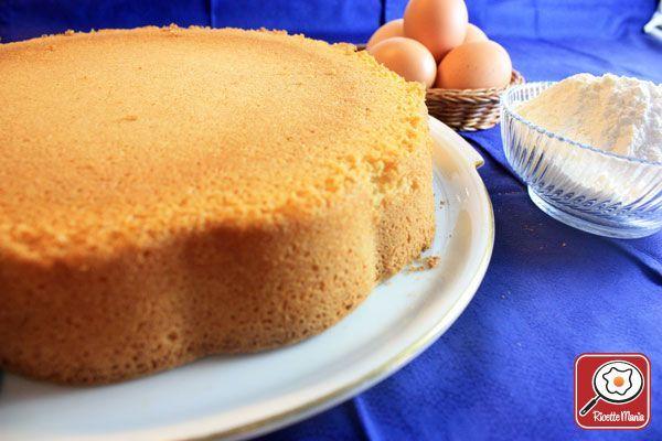 Ricetta Pan di spagna senza glutine per celiaci
