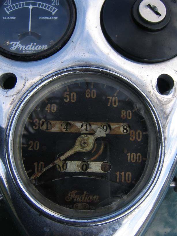 1940 Indian 4 cylinder