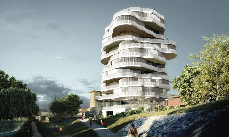 farshid moussavi architecture wins montpellier tower residence competition