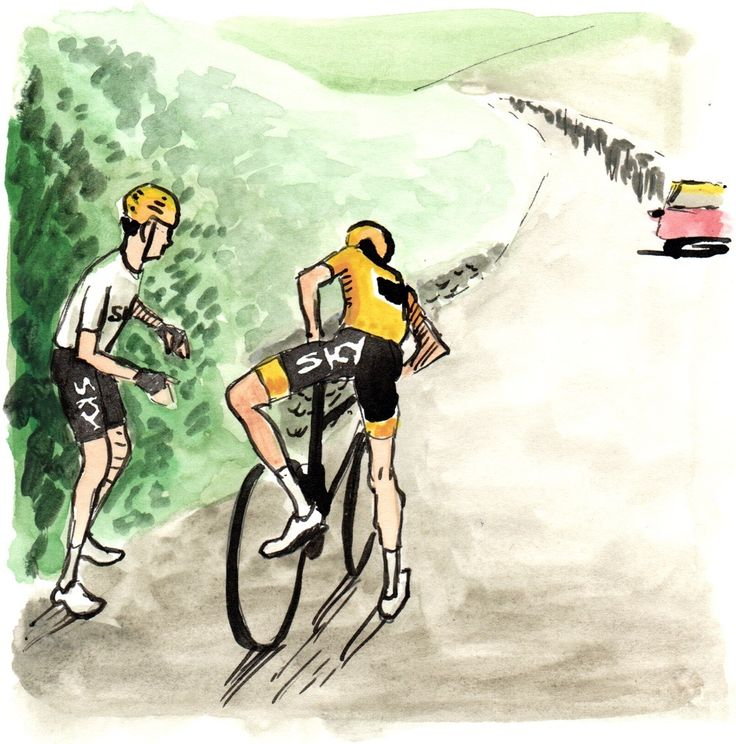 Tour de France 2017 Stage 15 painting by Sam Smith