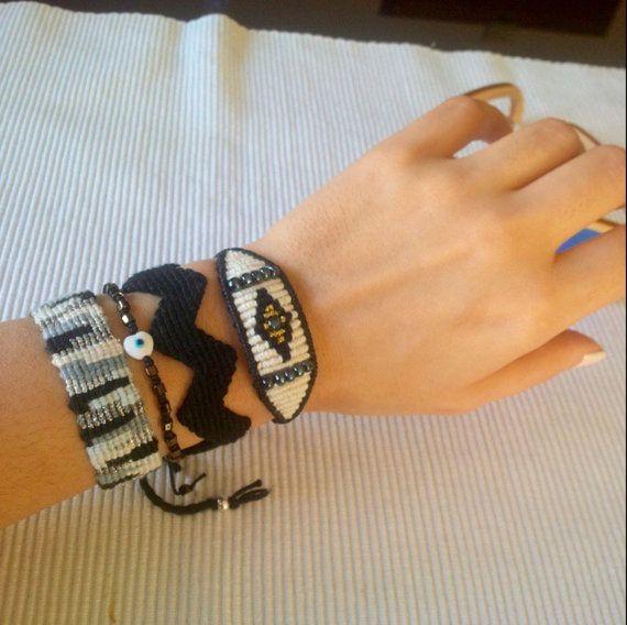 Handmade bracelets set of 4 pieces