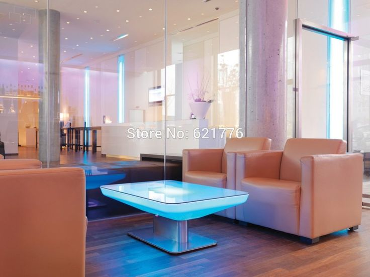 H56 Led Illuminated Furniture Dining table for 4 people,STUDIO LED,led coffee table for bar,meeting room,living room or  events
