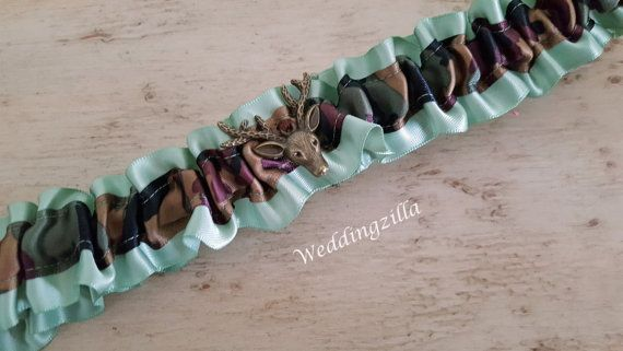 Rustic #Wedding, Plus Size Garter/ Camo #Bridal Garter/ #Camouflage Wedding Garter Set/ Deer Hunters Camo  Garter/Wedding Garter Belt/ Deer Camo Wedding Garter,  Green Garter,... #wedding #bride #bridal #garter #hairpiece #weddings #ido #rusticwedding #camowedding #camogarter #camouflage