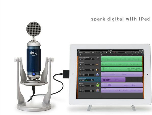 Blue Microphones Spark Digital Review @Shan @ Red Queen Miscellanea Microphones