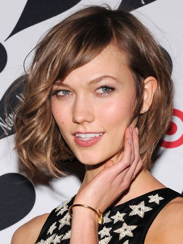 Hot celebrity hairstyles for every hair type: Karlie Kloss