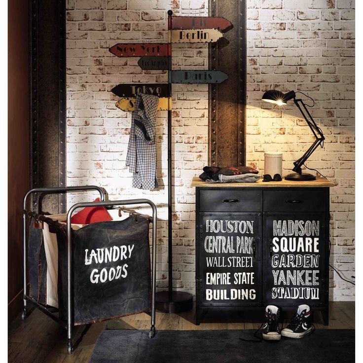 les 255 meilleures images du tableau industriel sur pinterest fauteuils en cuir industriel et. Black Bedroom Furniture Sets. Home Design Ideas