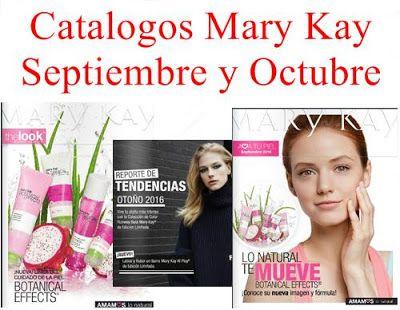 Mary Kay Catalogos Septiembre Octubre 2016, Fragancias, Cosmeticos, Maquillaje y Accesorios